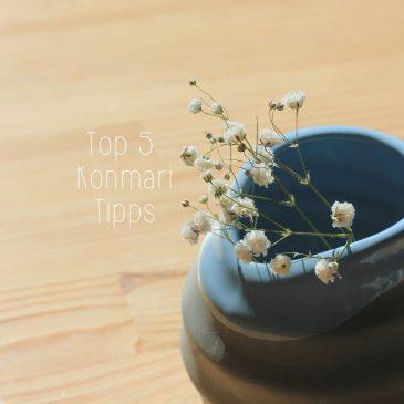 Meine 5 liebsten Konmari Tipps – Minimalismus #3