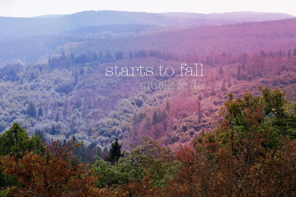 starts to fall