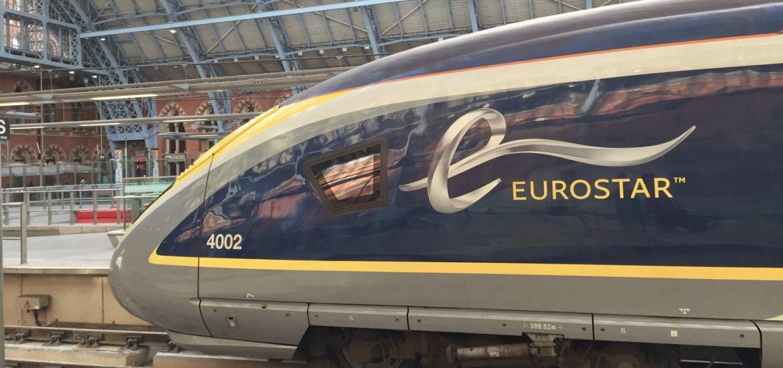 Reisen mit dem Eurostar