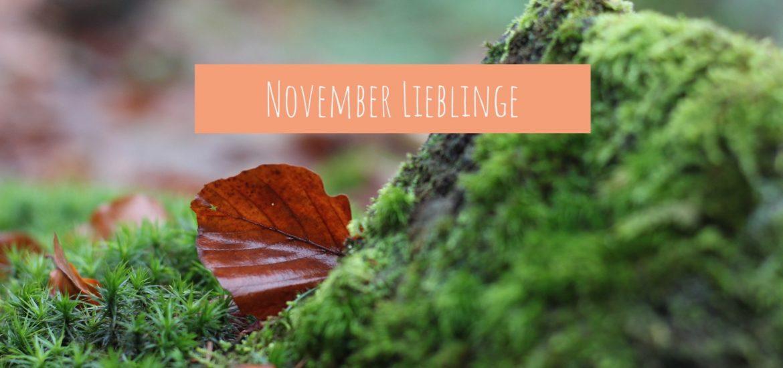 November Lieblinge