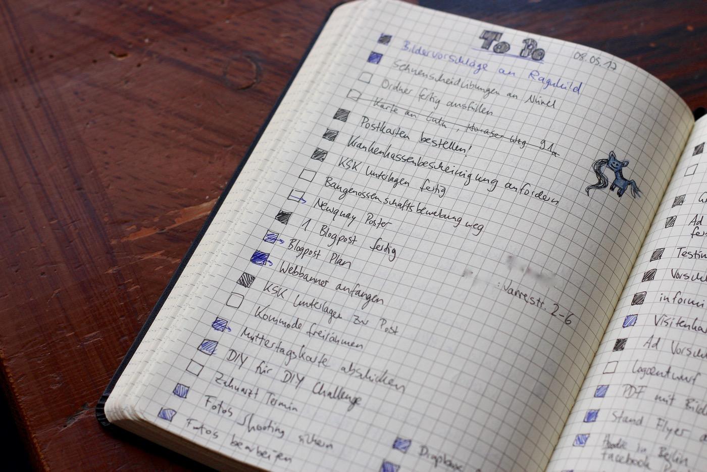 Mein Bullet Journal